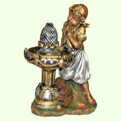 Декоративный фонтан Девочка у фонтана