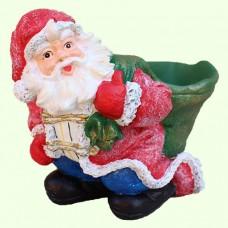 Новогодняя фигура Дед Мороз подбутылочник