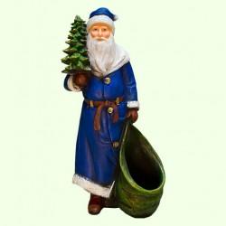 Новогодняя фигура Дед Мороз с елкой