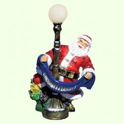 Новогодняя фигура Дед Мороз с шарфом