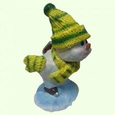 Новогодняя фигура Снеговик (М)