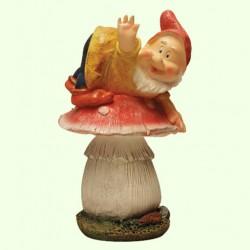 Садовая фигура Гном грибник (М)