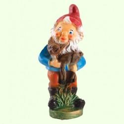 Садовая фигура Гном лесничий (М)