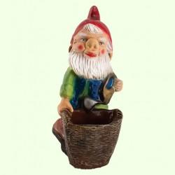 Садовая фигура Гном с корзиной (М)