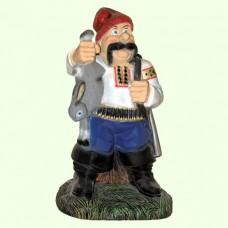 Садовая фигура Козак охотник