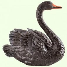 Садовая фигура Лебедь чёрный (М)