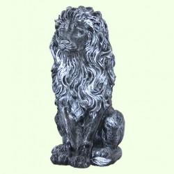 Садовая фигура Лев геральдический