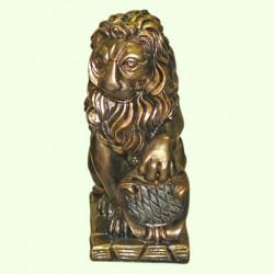 Садовая фигура Лев правый (М)