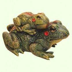 Садовая фигура Лягушка с лягушонком