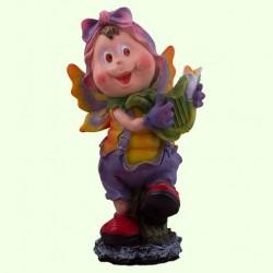 Садовая фигура Мотылек с арфой