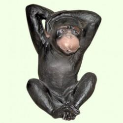 Садовая фигура Обезьяна глухая