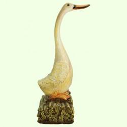 Садовая фигура Резная утка (М)