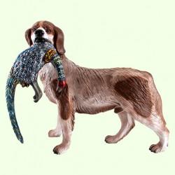 Садовая фигура Собака с фазаном