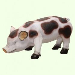 Садовая фигура Свинка пятнистая