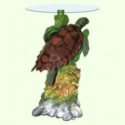 Стеклянный столик Черепаха (А)