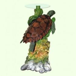 Стеклянный столик Черепаха (Б)