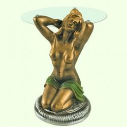 Стеклянный столик Купальщица