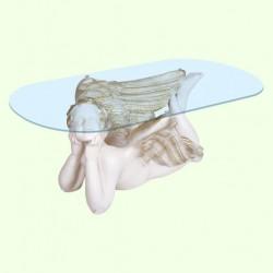 Стеклянный столик Мечтающий ангел