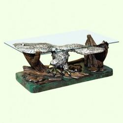 Стеклянный столик Орел (Б)