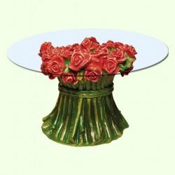 Стеклянный столик Розы