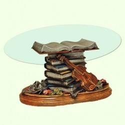 Стеклянный столик Скрипка А (худ)