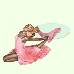 Стеклянный столик Танец