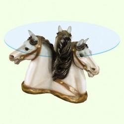 Стеклянный столик Тройка