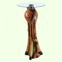 Стеклянный столик Жираф с малышом