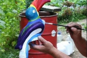 Правильный уход за ландшафтными скульптурами и реставрация декоративных фигурок