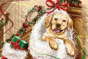 Декоративная фигурка собаки – лучший подарок в Новый 2018 год