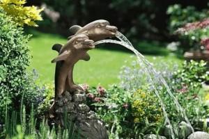 Все, что нужно знать про садовые фонтаны