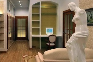 Скульптура в интерьере дома