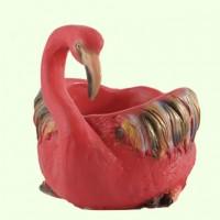 Подставка для цветов Фламинго