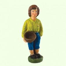 Подставка для цветов Мальчик с корзиной