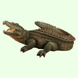 Фонтан для садового пруда Крокодил (Ср)