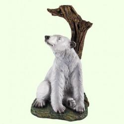 Фонтан для садового пруда Медведь