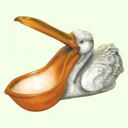 Фонтан для садового пруда Пеликан
