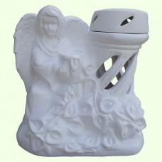 Лампадка Ангел с каллами