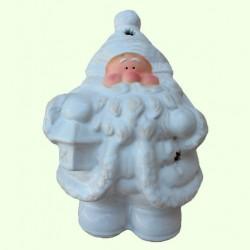 Новогодний подсвечник Дед Мороз с фонарем