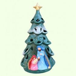 Новогодний подсвечник Елка рождественская