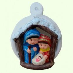 Новогодний подсвечник Рождественский шар
