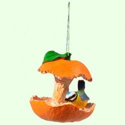 Кормушка Птичка в апельсине