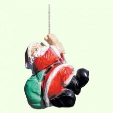 Новогодняя фигура Дед Мороз на верёвке