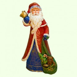 Новогодняя фигура Дед Мороз с мешком