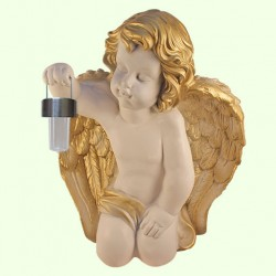 Садовая фигура Ангел с фонарем (М)