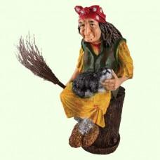 Садовая фигура Баба Яга