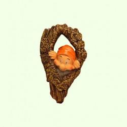 Садовая фигура Дупло с гномом