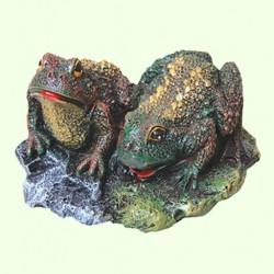 Садовая фигура Две жабы