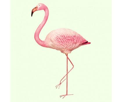 Садовая фигура Фламинго на метал. лапах
