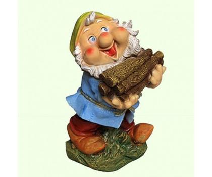 Садовая фигура Гном дровосек (М)